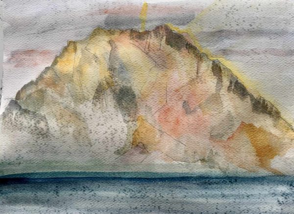 Traunsee - Watercolor